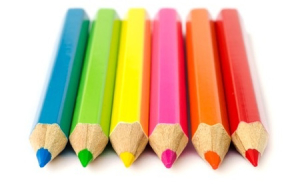 Taxing Nannies coloured pencils